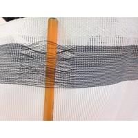Steigernet 2,57m x 50m PE 130 gr/m2 - Wit