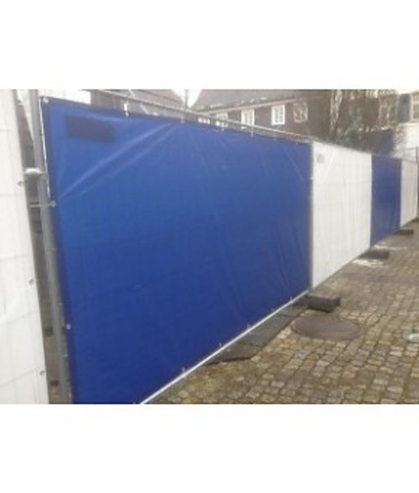 Bouwhekzeil PE 150 gr/m2 - Blauw