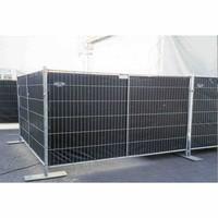 Lichtgewicht bouwhekzeil PE 150 gr/m2 - Zwart