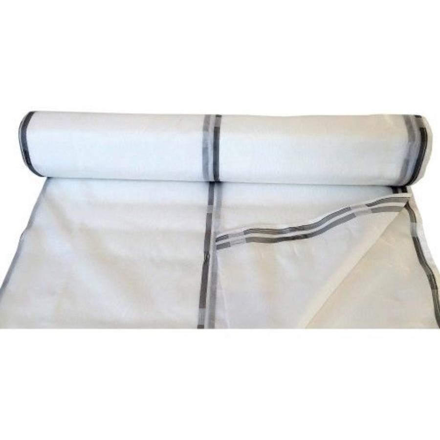 Filet d'échafaudage PE 130 - 2,57m x 50m Blanc