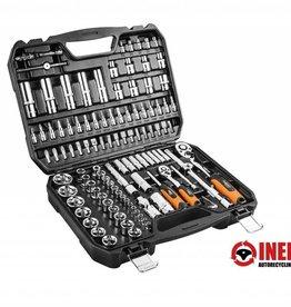"Neo Tools Knarren Werkzeug Set, 108 Teilig, 1/4"", 1/2"", CrV Stahl"
