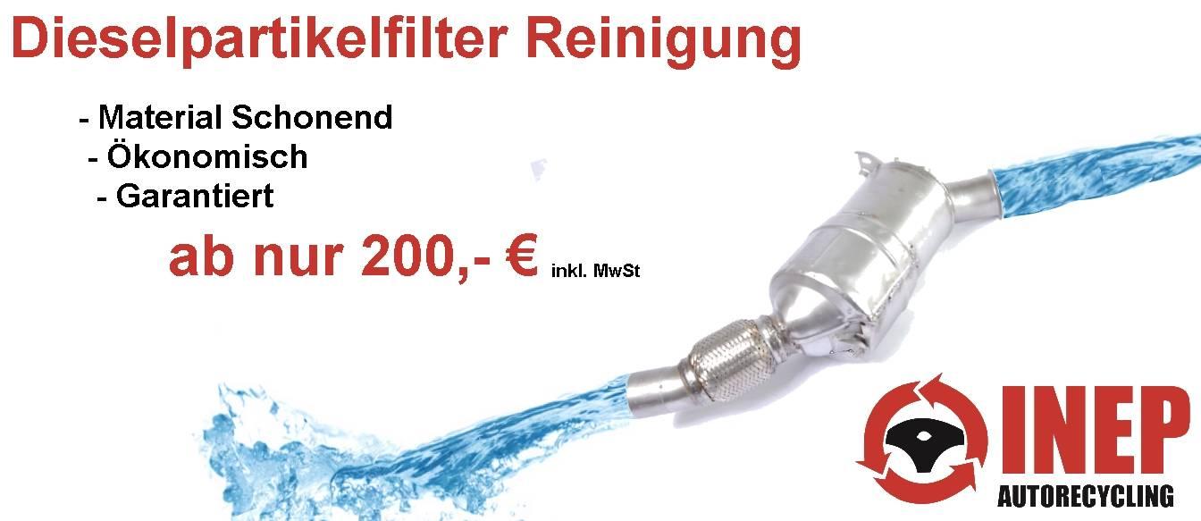 Dieselpartikelfilter Reinigung
