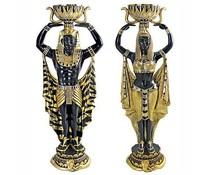 Standbeelden Cleopatra's set