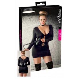 Cottelli Collection plus Schwarzes Minikleid bis 4XL