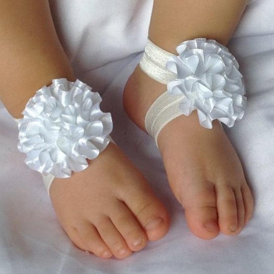 Baby sandaaltje - Wit-1