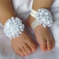 thumb-SALE - Baby sandaaltje - Off White-3