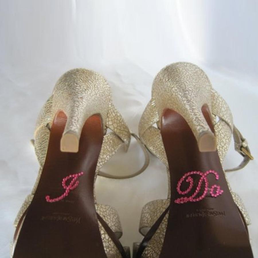 'I DO' Sticker - Roze-3