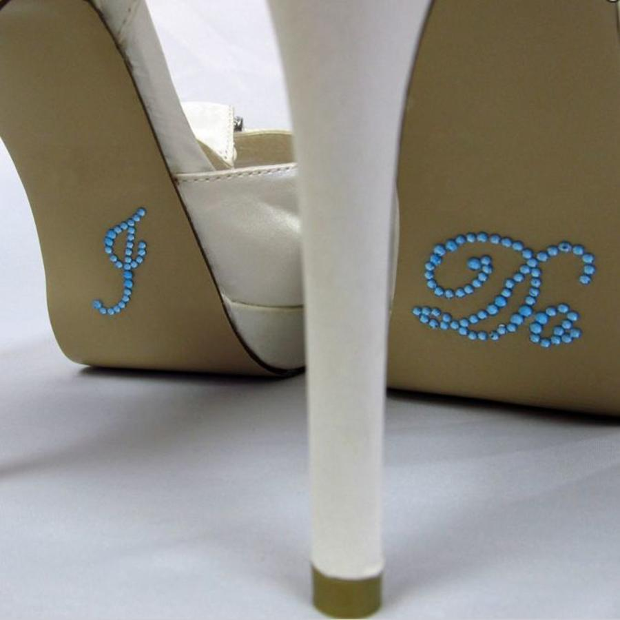 'I DO' Sticker - Aqua Blauw-1