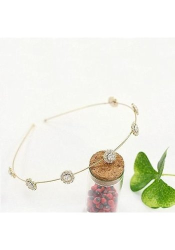 SALE - Chique Diamante Diadeem