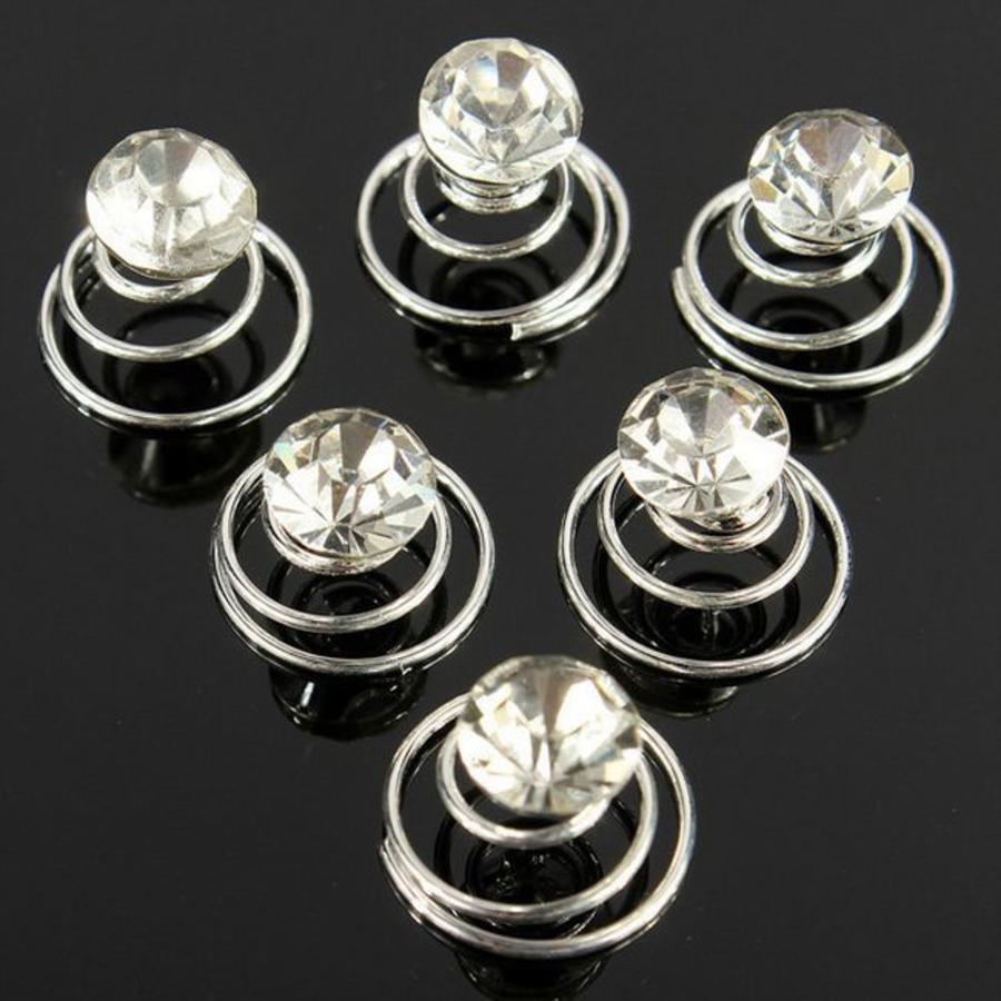 Kristallen Curlies - 6 stuks-9