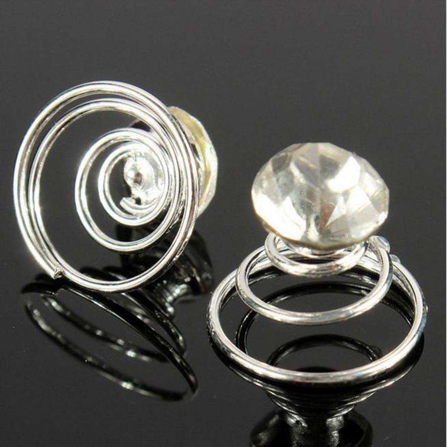 Kristallen Curlies - 6 stuks-6