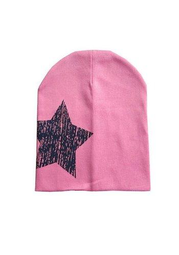 SALE - Kindermuts Ster - Roze