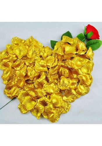 SALE - Rozenblaadjes - Goud (ca. 100 stuks)