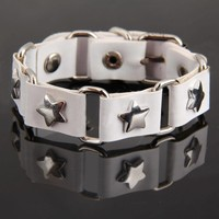 thumb-SALE - Armband Star - Wit-1
