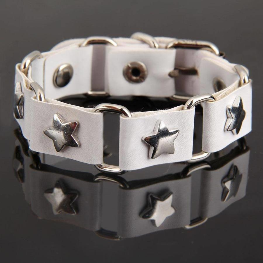 SALE - Armband Star - Wit-1