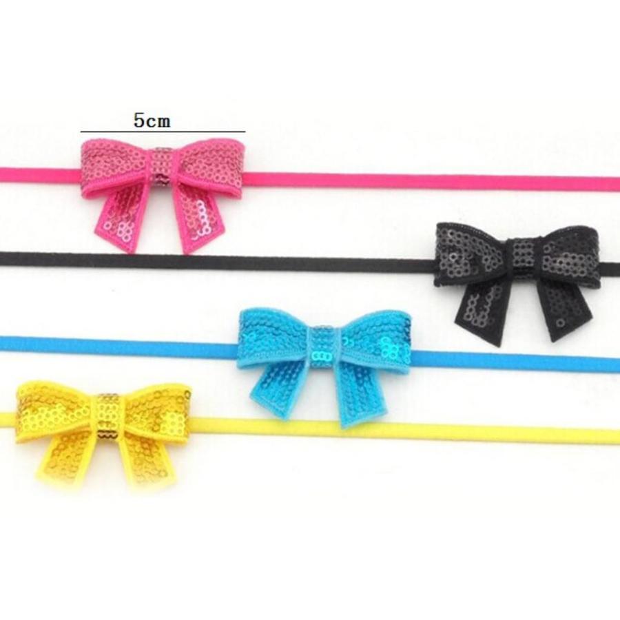 Haarband Strik - Licht Roze-6