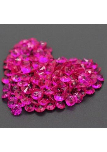 Decoratie Steentjes - Diamantjes - Roze - 1000 stuks