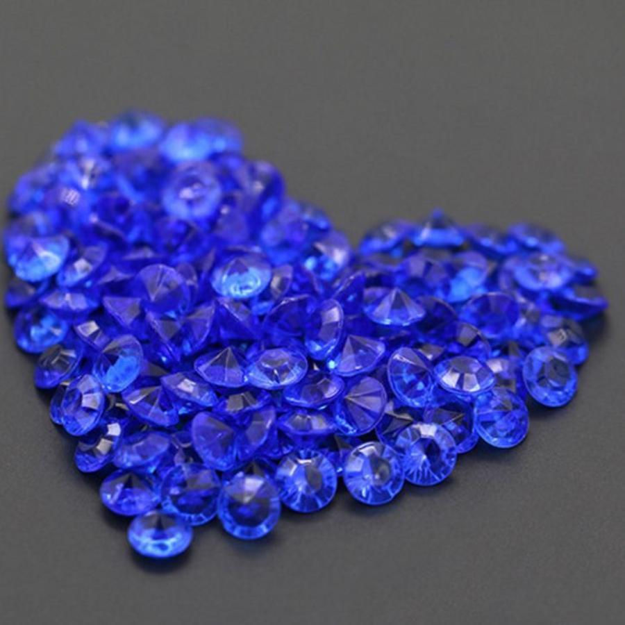 Decoratie Steentjes - Diamantjes - Blauw - 1000 stuks-1