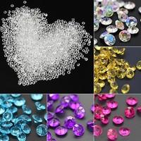thumb-Decoratie Steentjes - Diamantjes - Aqua Blauw - 1000 stuks-4