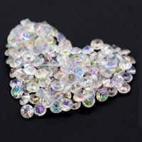thumb-Decoratie Steentjes - Diamantjes - Clear Crystal - 1000 stuks-1