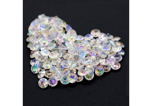 Decoratie Steentjes - Diamantjes - Clear Crystal - 1000 stuks