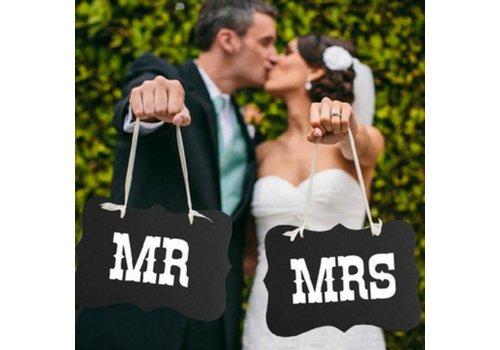 Mr & Mrs Bordjes - Bruiloft Decoratie