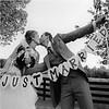 Just Married Hart Slinger- Bruiloft Decoratie