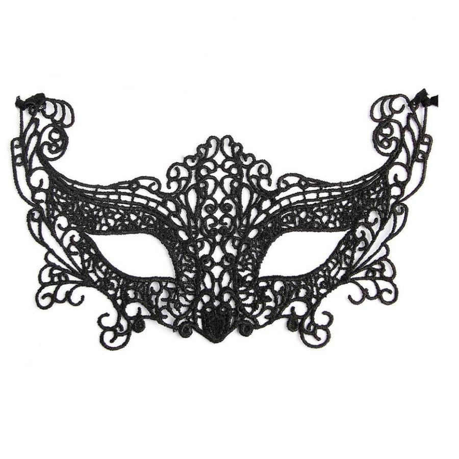 SALE - Party Masker - Zwart - 007-1