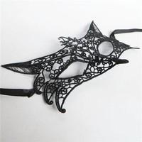 thumb-Party Masker - Vos - Zwart - 001-5
