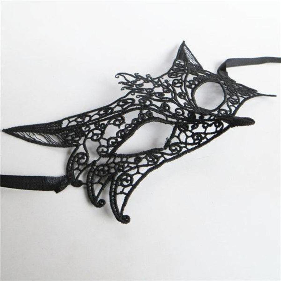 Party Masker - Vos - Zwart - 001-5