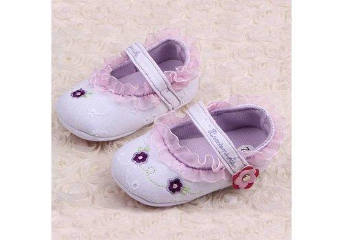 SALE - Lila Ballerina's / Babyschoentjes - 006