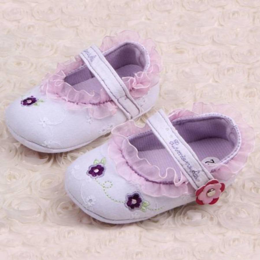 SALE - Lila Ballerina's / Babyschoentjes - 006-1