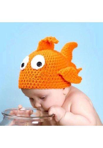 Schattig kindermutsje - Vis