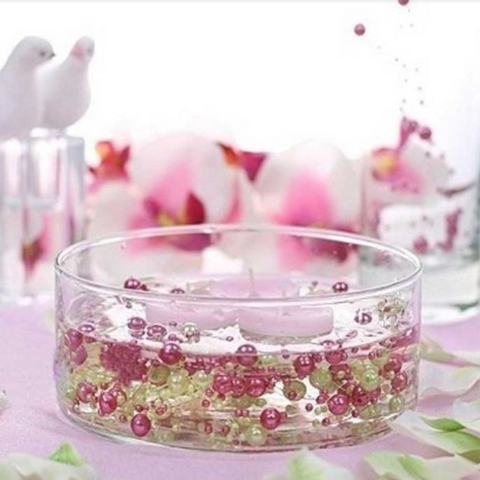 Roze parels 20 m bruiloft decoratie diy - Decoratie afbeelding ...
