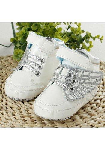 Sneakers met Vleugels - Wit