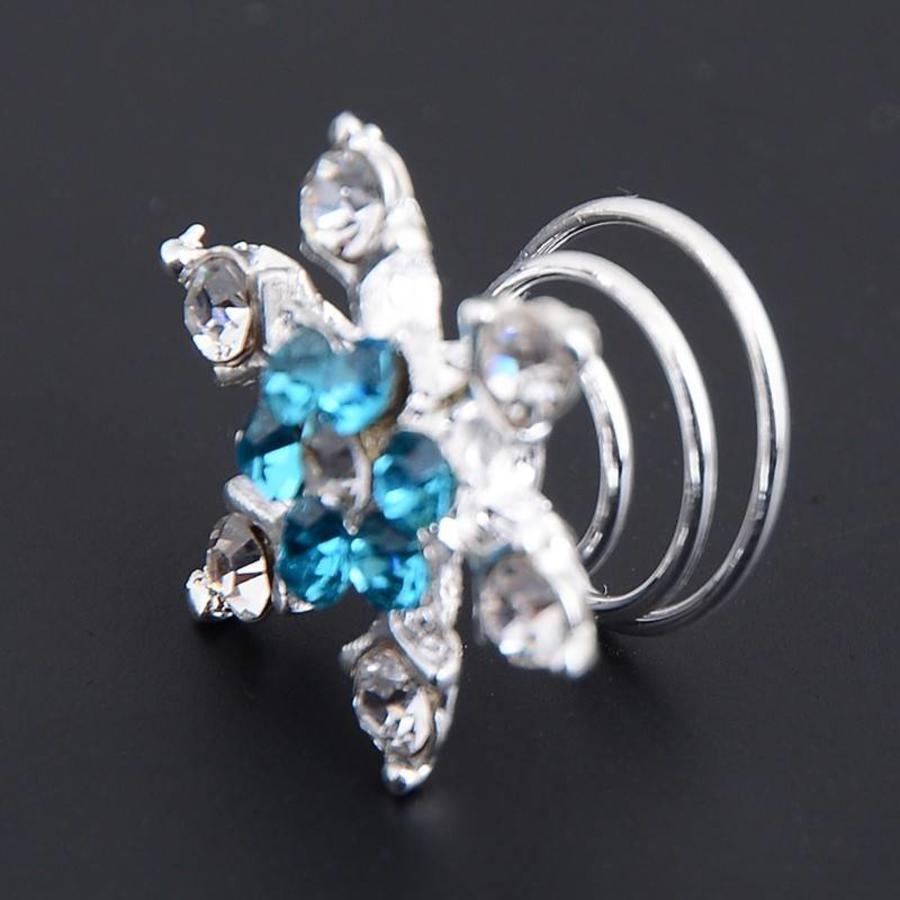 Curlies Crystal & Aqua - 6 stuks-2