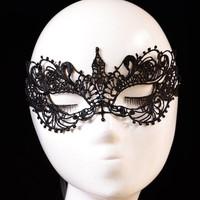 thumb-Party Masker - Zwart-1
