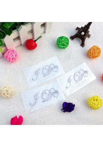 SALE - 'I DO' Sticker - Zilver