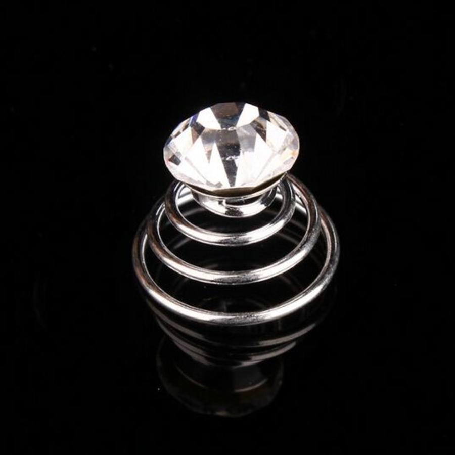Kristallen Curlies - 6 stuks-1