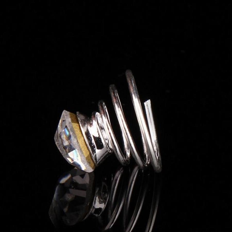 Kristallen Curlies - 6 stuks-3