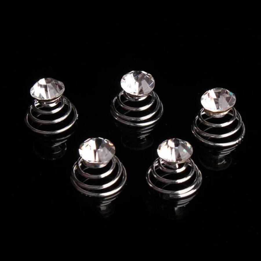 Kristallen Curlies - 6 stuks-2
