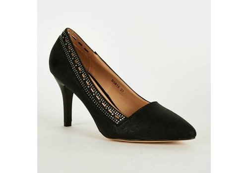 SALE - Pumps - High Heels - Belle Women - Zwart