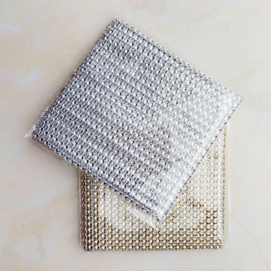 Diamanten 'Lint' - 90 cm. - Zilver -  Bruiloft Decoratie - DIY-6