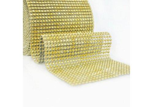 Diamanten 'Lint' - 90 cm. - Goud - Bruiloft Decoratie - DIY