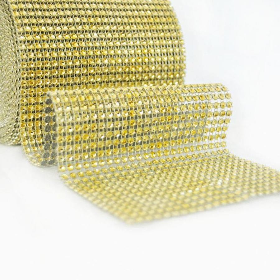 Diamanten 'Lint' - 90 cm. - Goud - Bruiloft Decoratie - DIY-1