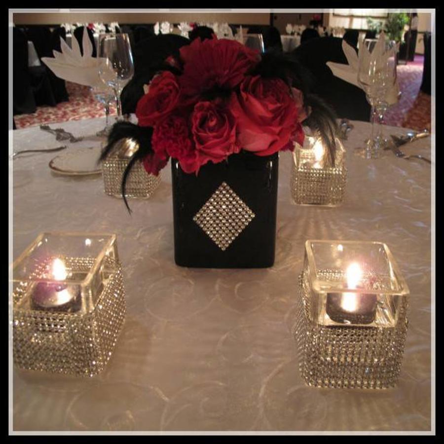 Diamanten 'Lint' - 90 cm. - Goud - Bruiloft Decoratie - DIY-8