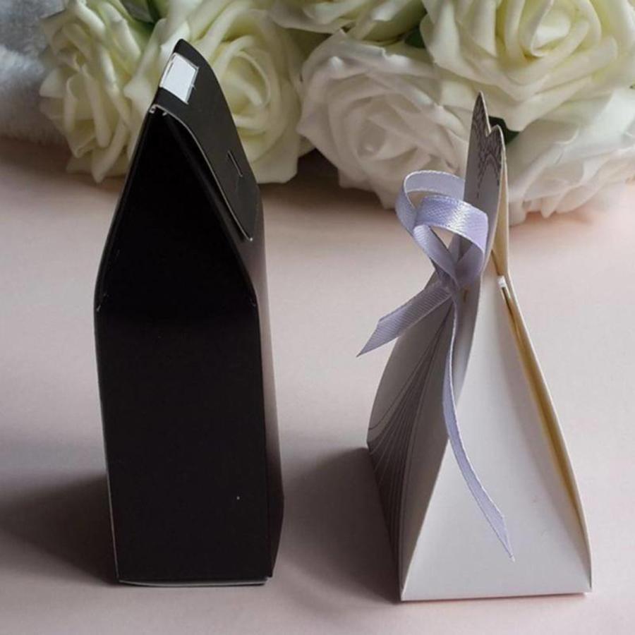 Geschenk doosjes / Cadeau doosjes - 50 stuks - Bruid & Bruidegom-3