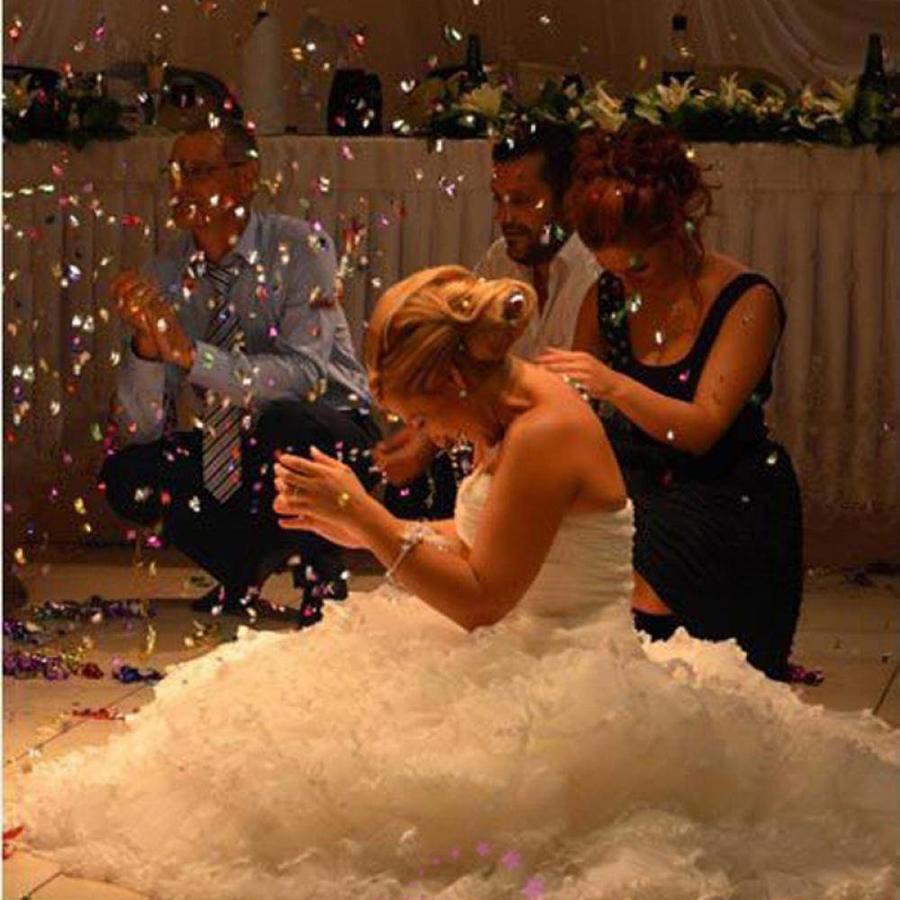 Confetti - Just Married - Rood - 350 stuks-5