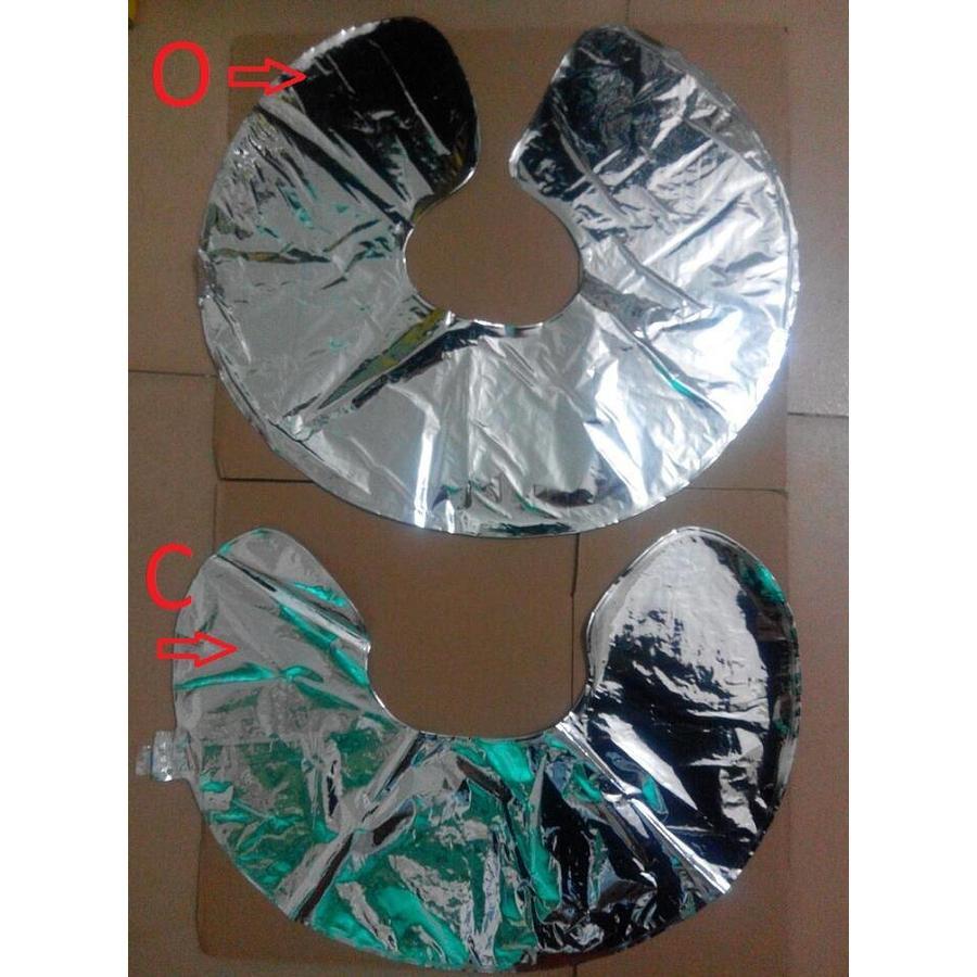 SALE - LOVE - Helium Ballonnen - Zilver-3
