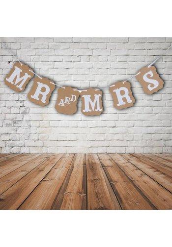 Mr & Mrs Slinger - Bruiloft Decoratie